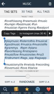 Music Hashtags
